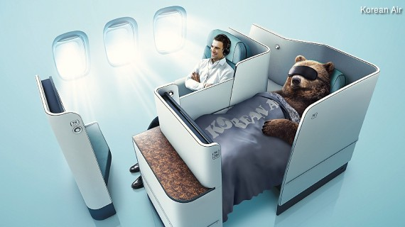 Korean Air Prestige Suites Business Class